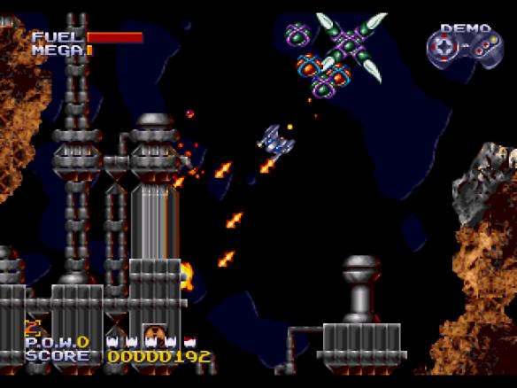 Sub-Terrania (1993, Sega Genesis)